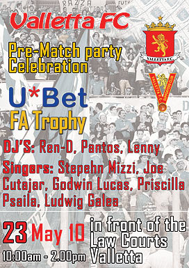 VFC Pre match party